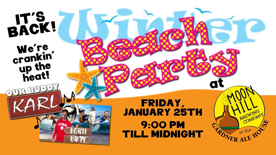 Winter Beach Party at the Gardner Ale House