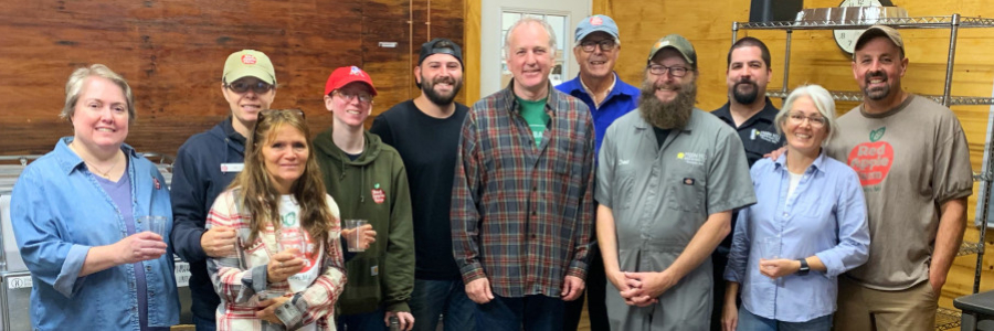 Red Apple Farm & Moon Hill Brewing Celebrate Hard Cider Operation Grand Opening