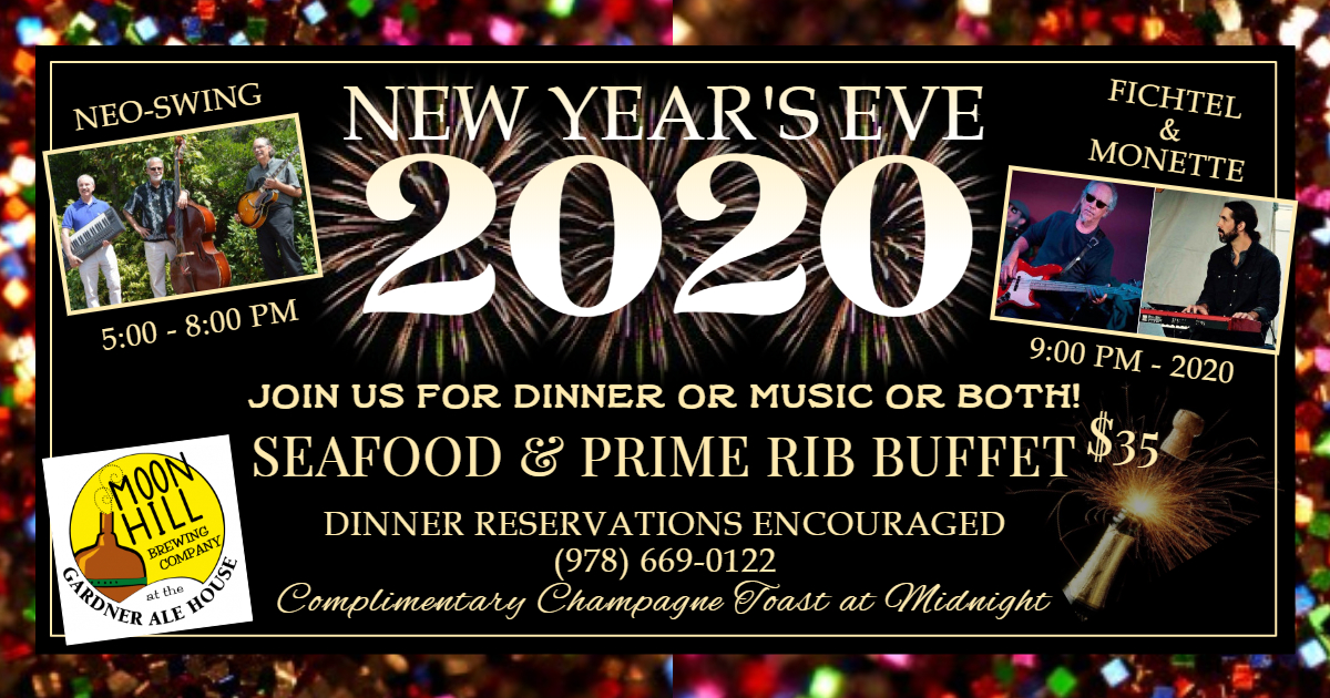 New Year's Eve 2020 at the Ale House