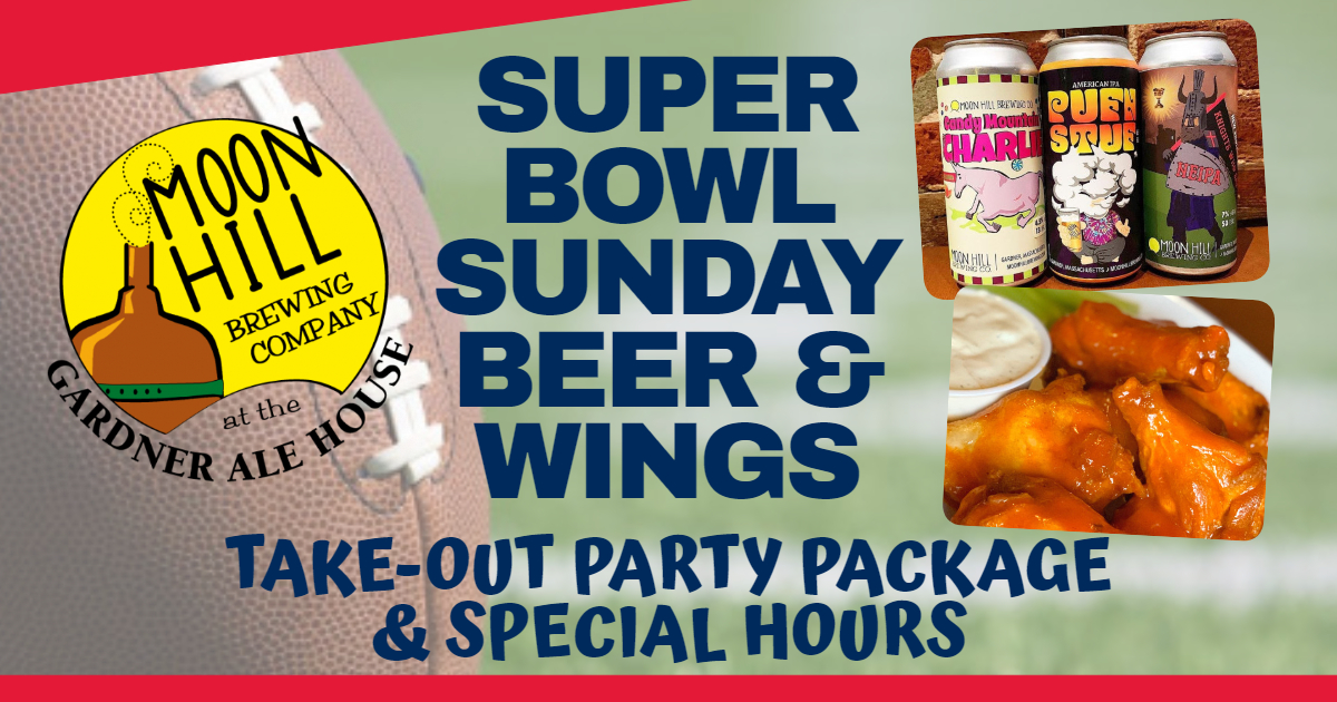 Super Bowl Beer & Wings Take-Out Party Package
